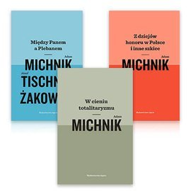 Pakiet książek Adama Michnika