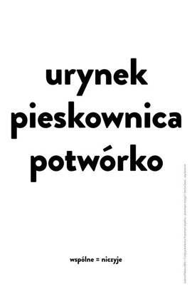 Plakat Hanny Sitarz 120 x 180 cm