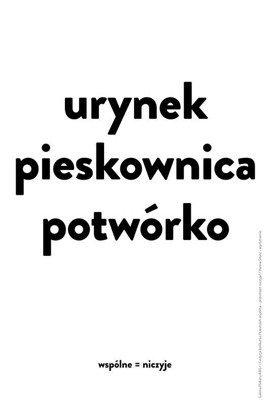 Plakat Hanny Sitarz 66,6 x 100 cm
