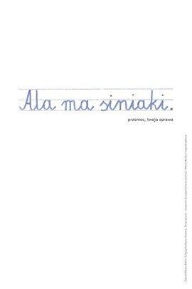Plakat Marcina Kiedosa 66,6 x 100 cm