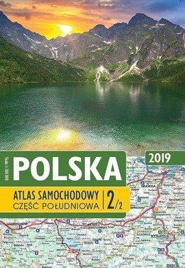 Polska. Atlas samochodowy 2019